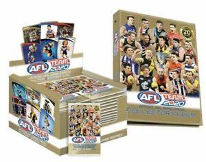 2020-AFL-TEAMCOACH-TEAM-COACH-FOOTY-TRADING-CARDS-SEALED-BOX-ALBUM
