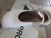 Birkenstock Alpro Birko Flor 105133 Mary Jane Cork Shoes Womens 11 White