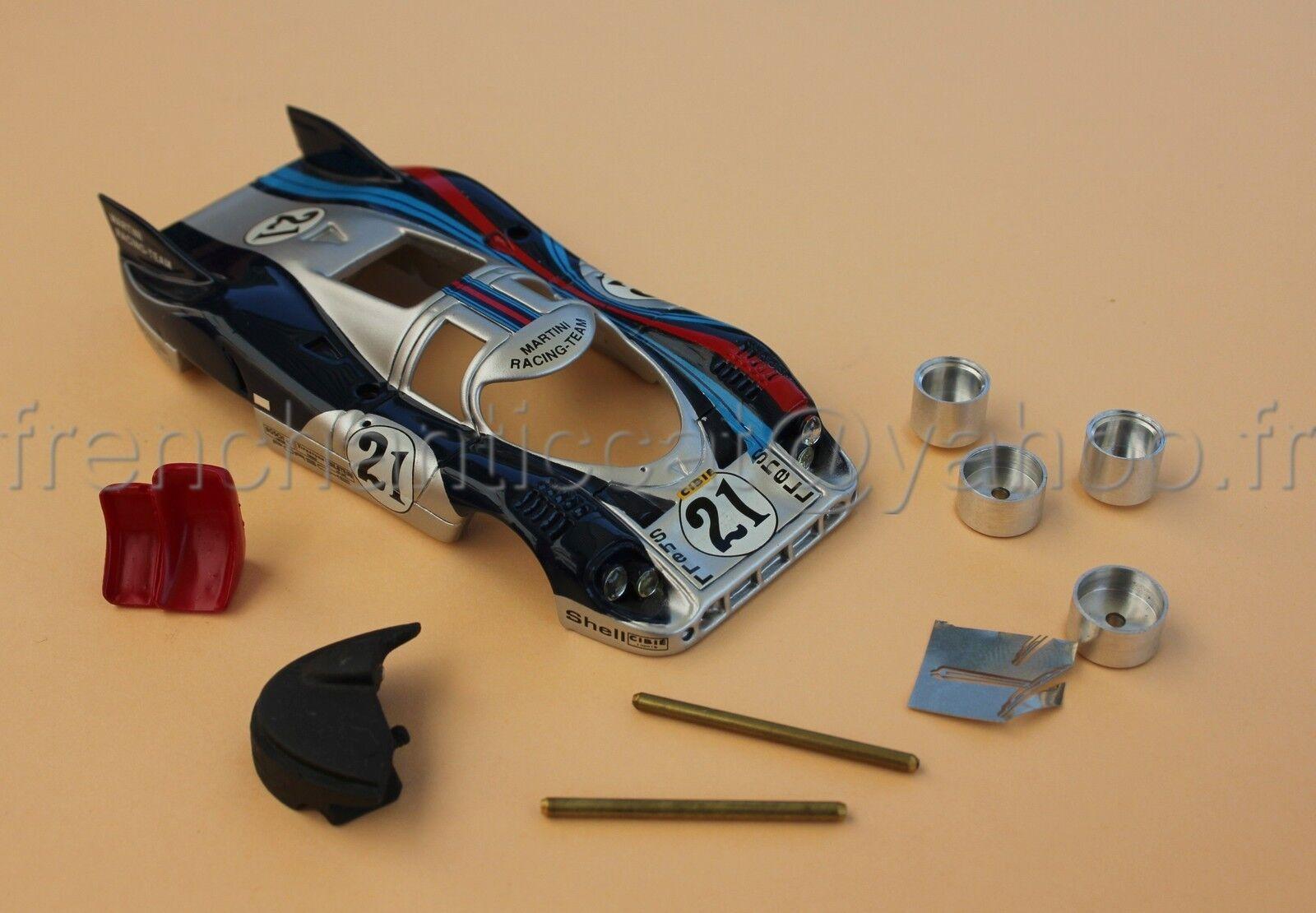 CP Coche Porsche Porsche Porsche 917 Martini Carreras N º 21 1 43 Heco Miniaturas Le Mans bf162a