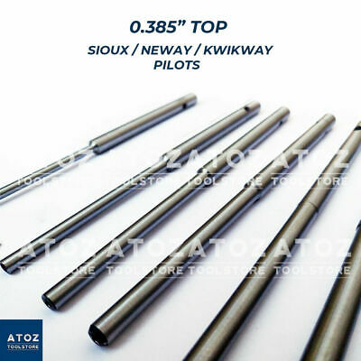 4mm to 7mm Valve Grinding Pilots Neway Type Set for 100 Series Cutter