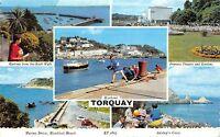 BR65900 harbour torquay  uk 14x9cm