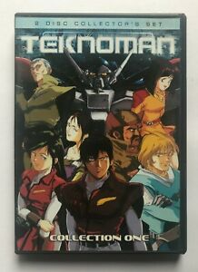 Teknoman Collection One DVD 2-Disc Collector's Set Anime Works Region 1 OOP