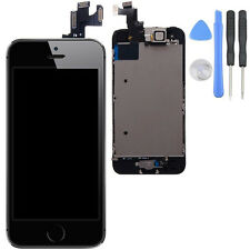 for iPhone 5s Black LCD Lens Touch Screen Display Digitizer Replacement Assembly