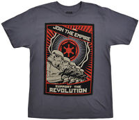 Star Wars Storm Trooper Propaganda T-shirt Mens Disney Small