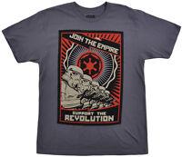 Star Wars Storm Trooper Propaganda T-shirt Mens Disney Small on sale