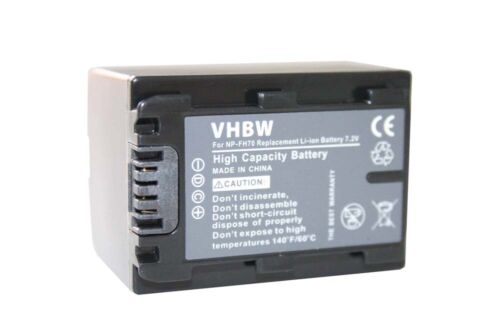 Batería Para SONY NP-FH70 FH-70 NPFH 70 Con Chip ACCU