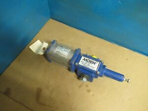 Details about MORIN PNEUMATIC ROTARY ACTUATOR B-006U-S080 160PSI LA99900A  80PSI USED