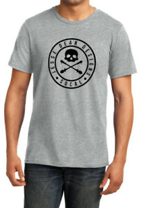 Details about JESSE DEAN DESIGNS SKULLY T-SHIRT GREY