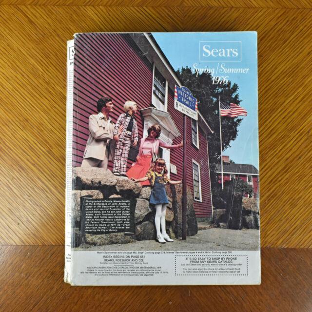 Vintage Sears Roebuck Co 1976 Spring Summer Catalog