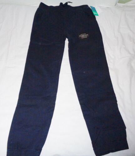 Boy/'s School Pants by PS Aeropostale Size 10//12 Blue Twill Cotton NEW