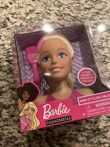 Barbie Minie Styling Head Hair Brush Included