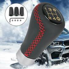 Bingohobby Car Gear Knob Universal Leather Shift Knob Gear Shifter Stick Cover 5 Speed