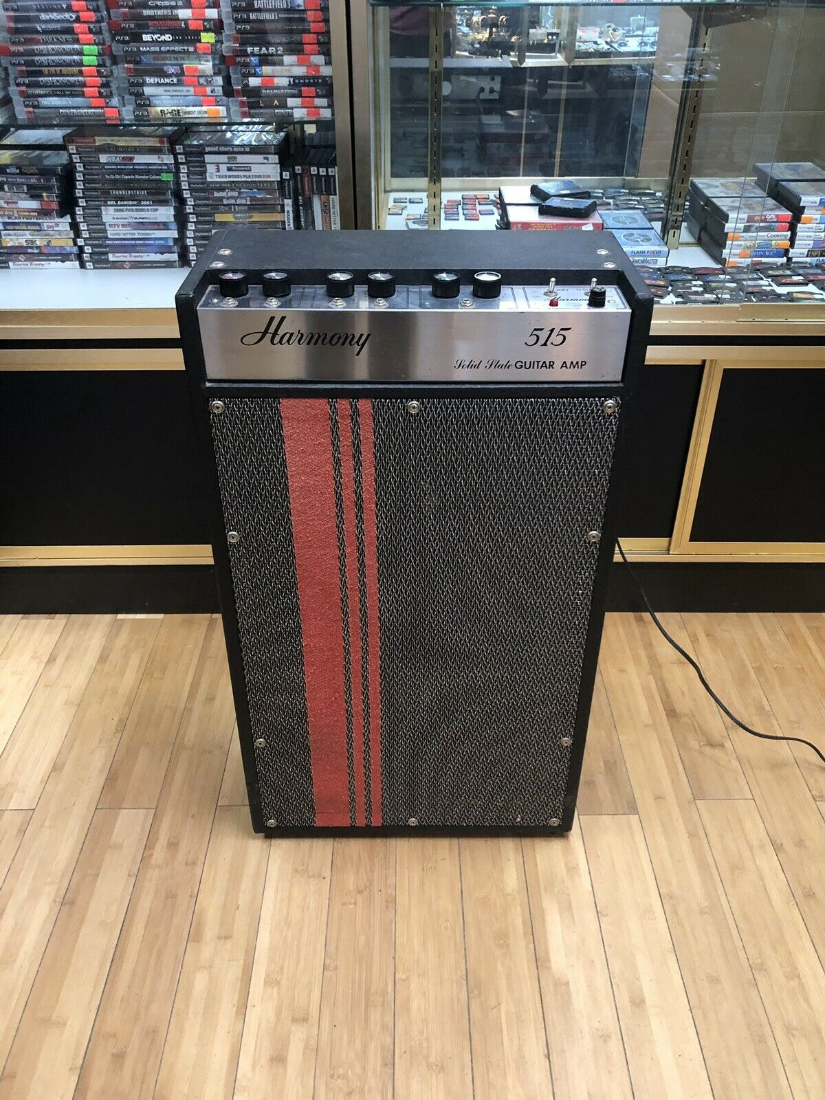 Harmony 515 Solid State Guitar Amp 1969