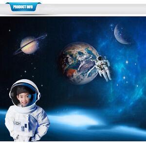 3d astronaut wall decor cartoon image is loading 3dspaceamazingastronautwallstickersvinylremovable 3d space amazing astronaut wall stickers vinyl removable nursery diy