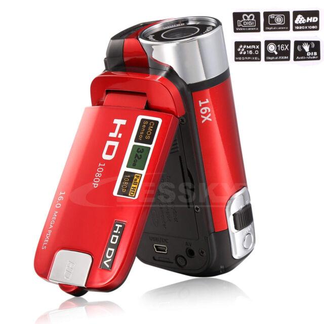 Full HD 1080P 16MP Digital Video Camcorder Camera DV 2.7'' TFT LCD 16X ZOOM Hot