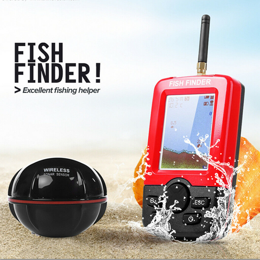 MagiDeal Portable Fish Finder with Sonar Sensor Transducer  and LCD Display  sell like hot cakes