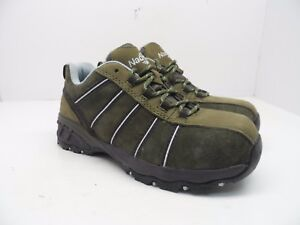 3524734b0f8 Nautilus Safety Footwear Women's N1758 Composite Toe Work Shoe Olive ...