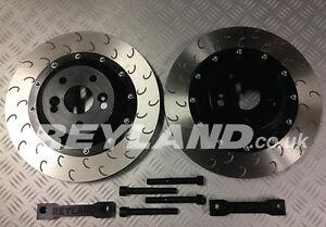 renault megane 250 265 rs 355mm 2 piece front big brake disc kit ebay. Black Bedroom Furniture Sets. Home Design Ideas