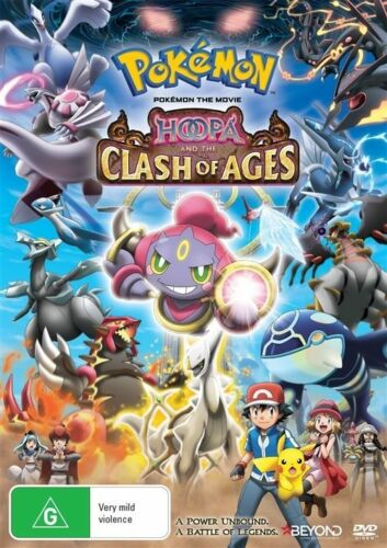 1 of 1 - Pokemon The Movie - Hoopa And The Clash Of Ages (DVD, 2015)
