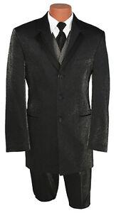 bijpassende met broek Zwarte special herenmousserende smoking VestTie entertainer ynvN0wOm8