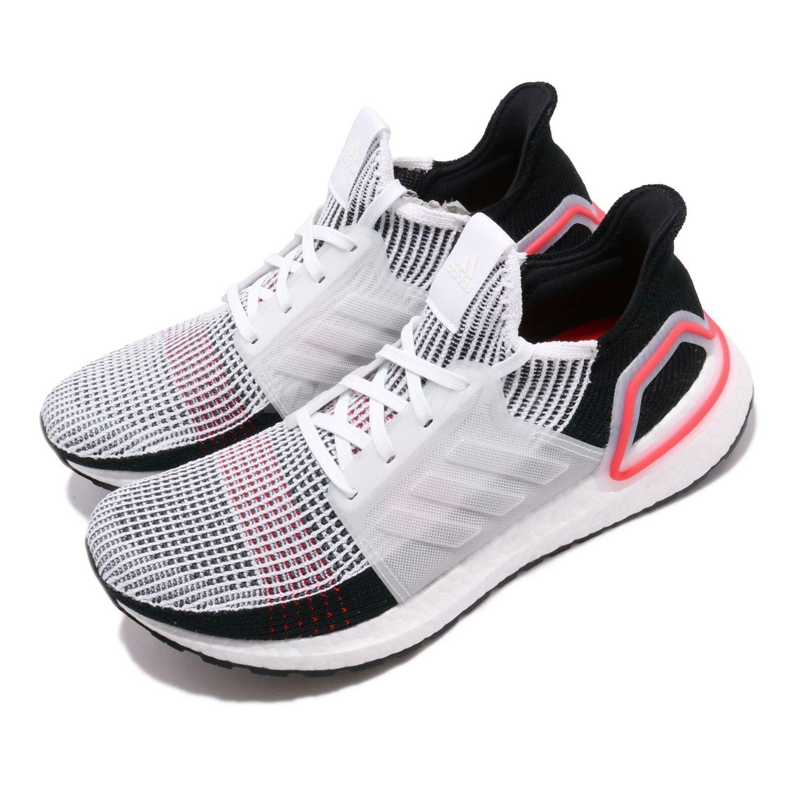 Adidas UltraBOOST 19 Láser blancoo Rojo Negro para Hombre Running Zapatos TENIS B37703