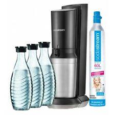 SodaStream Crystal 2.0 Wassersprudler mit CO²-Zylinder und 3x Glaskaraffen