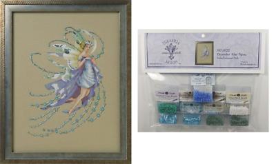 Mirabilia Cross Stitch Chart MD162 December Blue Topaz Cheap Shipping.