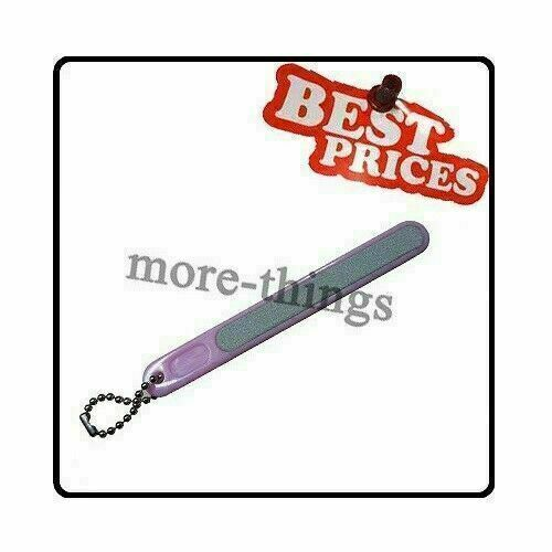 Cosmetic Tool Pink Plastic Handle Nail File