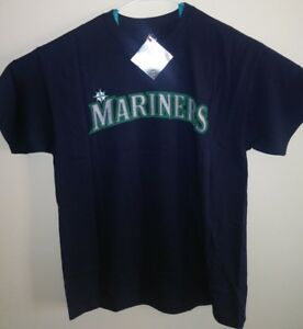 best website 216ac 5679c Details about NWT SEATTLE MARINERS Baseball T-SHIRT Size Adult LARGE #4  Ketel Marte