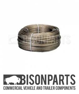+TRAILER CURTAIN REPAIR TIR CABLE PVC COATED GALVANISED STEEL WIRE 250 METERS
