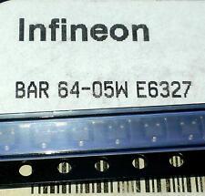 3 Stück BAR64-05W Dual  PIN Switch/Attenuator Diode up to 6 GHz SOT323 (M1512)