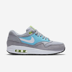 Image is loading Nike-Air-Max-1-Essential-Grey-Blue-White-