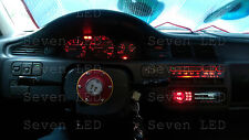 RED Honda Civic EG 92-95 Gauge Cluster + Climate control LED KIT