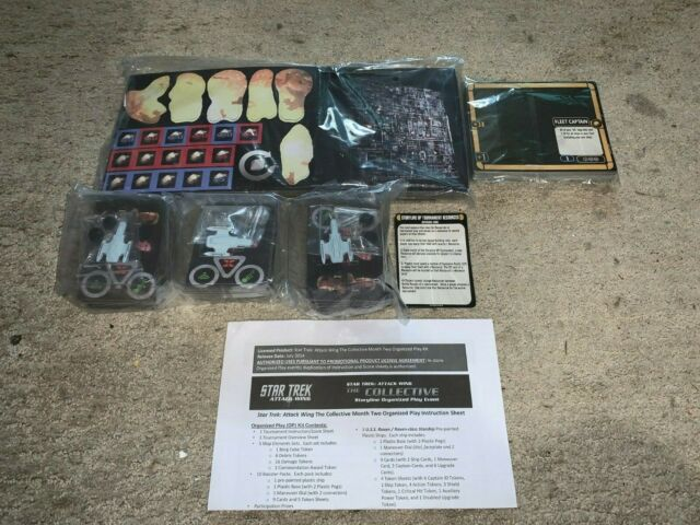 Star Trek Attack Wing The Collective OP Kit Month 2 /  U.S.S Raven Starship