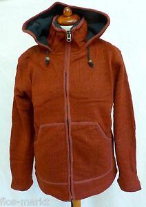 16ab9310c9c0 schöne Gr. S oder XL Jacke Strickjacke Hippie Goa Stil Wolle Kapuze ...