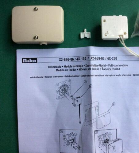 Niko Pr20 creme Kit pour interrupteurs à tirage