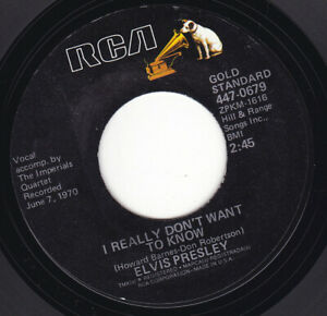 ELVIS-PRESLEY-I-Really-Don-039-t-Want-To-Know-7-034-45