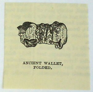 small-1883-magazine-engraving-ANCIENT-WALLET-folded-Peru