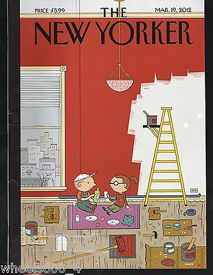 "The New Yorker Magazine March 19, 2012 ""Warmth"" by Ivan Brunetti Excellent"
