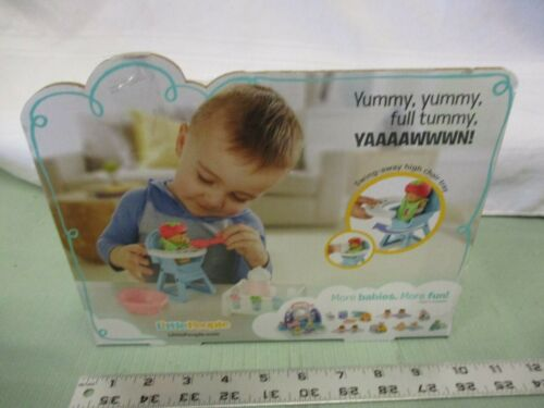 Fisher Price Little People Snack /& Snooze Baby Toddler Eat Bottle Playpen Toy