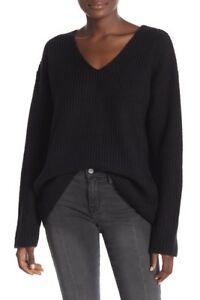 Sweater New Black Frame V 439088212348 Denim Round neck Brand Small vwwIZqF8
