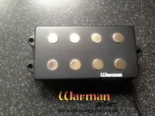 MM 4 string bass humbucker. 13.2 kOhm 4 wire overwound