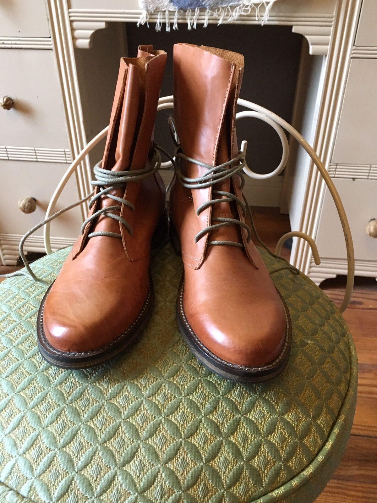 Chelsea Crew Fabio 2 Leather Boots, Tan US Size 7 7 7 58ea93