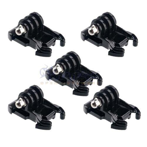 Hebilla Negro 5x básico Adaptador de montaje clips para GoPro Hero 5 4s//4//3+3//2//1 Cámara