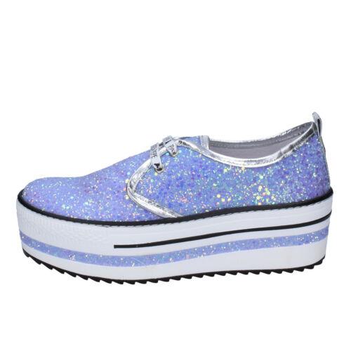 sneakers purple glitter BR631-36 EU 36 Details about  /women/'s shoes PATRIZIA PEPE 6