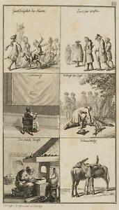 Chodowiecki (1726-1801). una osservazioni; pressione grafico 1