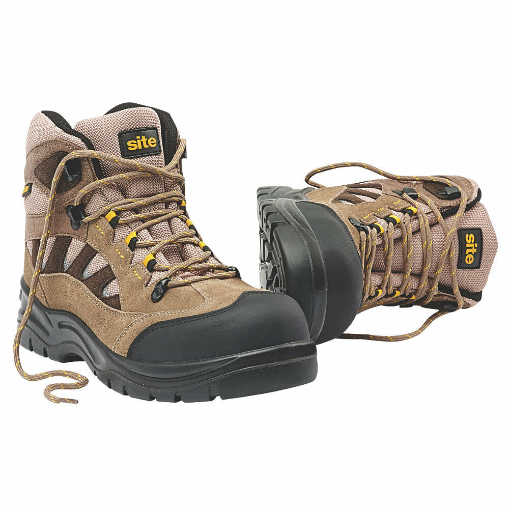 Site Granite - Safety Trainer botas Stone - Granite Thick Padded Collar and Tongue 90f558