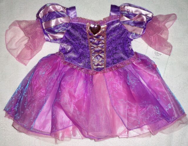 GIRLS SIZE 12-18 OR 18-24 MONTHS DISNEY STORE PRINCESS RAPUNZEL COSTUME NWT & Disney Princess Rapunzel Baby Costume Dress Tangled 12-18 Months | eBay