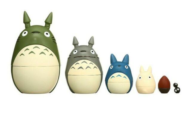 RARE Totomatryoshka next to Studio Ghibli ensky Studio Ghibli Totoro Matryoshka