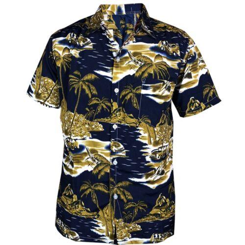 Da Uomo Hawaiano Casual Estivi Stag Do BAULI Palma Spiaggia Vacanza Stag Pantaloncini